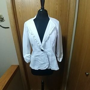 White Maurices Blazer